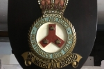 RAF Seletar Hand Made Station Badge