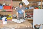 Bensen undergoing restoration