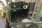 Auster airframe under renovation