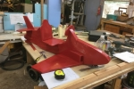 Red Arrow under construction