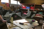 Spitfire under construction