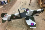 Spitfire bound for France