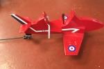 Red Arrow #2 in the hangar
